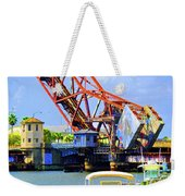 The Drawbridge Weekender Tote Bag