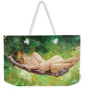 The Dream In Summer Garden Weekender Tote Bag