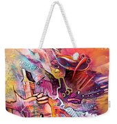 The Dream Of The Fish That Caried His House On His Back Weekender Tote Bag