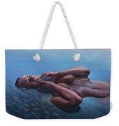 The Dreaming Mermaid Weekender Tote Bag
