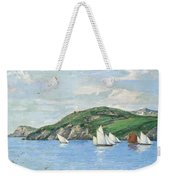 The Drifting Fishing Fleet Weekender Tote Bag