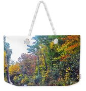 The Drive To See Grandfather Weekender Tote Bag