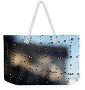 The Droplet Curtain Weekender Tote Bag