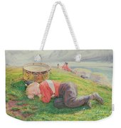 The Drummer Boy's Dream Weekender Tote Bag by Frederic James Shields