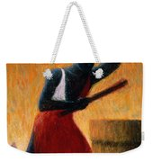 The Drummer Weekender Tote Bag