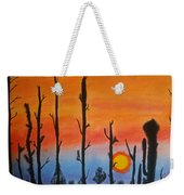The Dryest Sunset Weekender Tote Bag