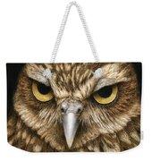 The Dubious Owl Weekender Tote Bag