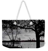 The Duck Pond Weekender Tote Bag