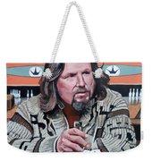 The Dude Weekender Tote Bag by Tom Roderick