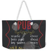 The Dugout Pub Weekender Tote Bag