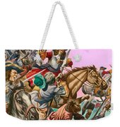 The Duke Of Monmouth At The Battle Of Sedgemoor Weekender Tote Bag