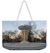 The Dupont Circle Fountain Without Water Weekender Tote Bag