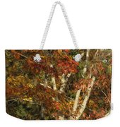 The Dying Leaves' Final Passion Weekender Tote Bag