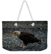 The Eagle And Its Prey Weekender Tote Bag