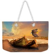 The Eagle And The Boat Weekender Tote Bag