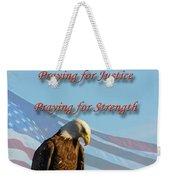 The Eagles Prayer Weekender Tote Bag