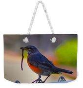 The Early Bird Weekender Tote Bag