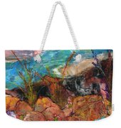 The Edge Of The Cliff Weekender Tote Bag