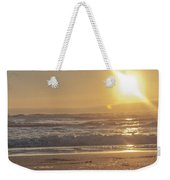 The Edge Of The Earth Weekender Tote Bag