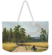 The Edge Of The Pine Forest Weekender Tote Bag