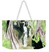 The Egret Weekender Tote Bag