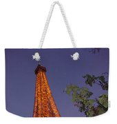 The Eiffel Tower Aglow Weekender Tote Bag