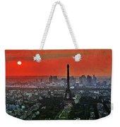 The Eiffel Tower Weekender Tote Bag