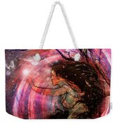 The Elements Wind Weekender Tote Bag