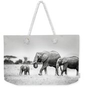 The Elephant Family Weekender Tote Bag