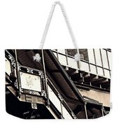 The Elevated Station At 125th Street 2 Weekender Tote Bag