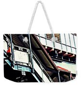 The Elevated Station At 125th Street Weekender Tote Bag