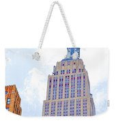 The Empire State Building 2 Weekender Tote Bag