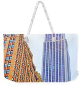 The Empire State Building 4 Weekender Tote Bag