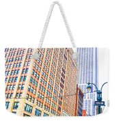The Empire State Building 6 Weekender Tote Bag