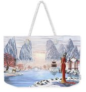 The Empress And The Unicorn Weekender Tote Bag