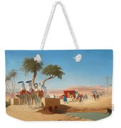 The Empress Eugenie Visiting The Pyramids Weekender Tote Bag