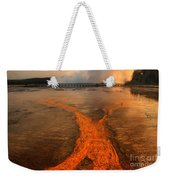 The Enchantment Of Grand Prismatic Spring Weekender Tote Bag