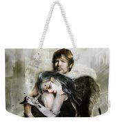 The End Is Nigh Weekender Tote Bag by Mary Hood