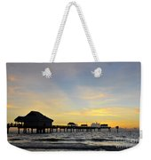 The End Of A Beautiful Day Weekender Tote Bag