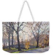 The End Of Fall At Three Sisters Islands Weekender Tote Bag