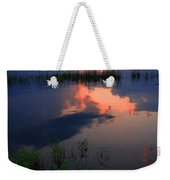 The End Of The Day Weekender Tote Bag