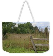 The End Of The Fence Weekender Tote Bag