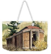 The End Of The Line Weekender Tote Bag by Sam Sidders
