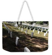 Arlington Tombstones Shade And Light Weekender Tote Bag