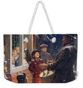 The Entertainer  Weekender Tote Bag by Percy Tarrant