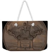 The Establishment Of The French Railway System: The Law Of 11 June 1842 [reverse] Weekender Tote Bag