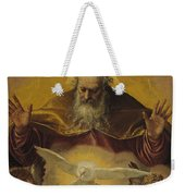 The Eternal Father Weekender Tote Bag by Paolo Caliari Veronese