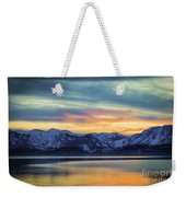 The Evening Colors Weekender Tote Bag