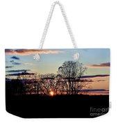 The Evening Sky Weekender Tote Bag