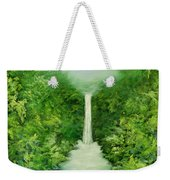 The Everlasting Rain Forest Weekender Tote Bag by Hannibal Mane